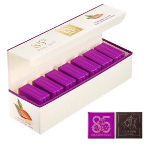 ピュア 85% ダークチョコレート カレ