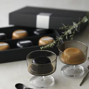 コーヒーゼリー&カフェオレプリン