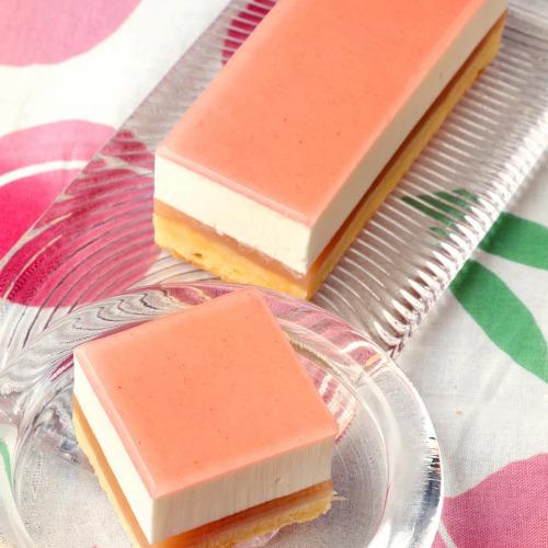 ピーチ チーズケーキ