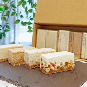 白砂糖不使用チーズケーキお試し4種セット 秋