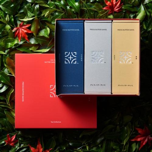 バターサンド3種セットボックス Tea Collection