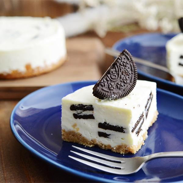 オレオの生クリームチーズケーキ